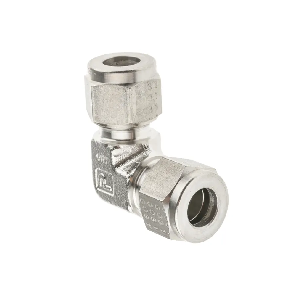 Parker S/steel equal elbow fitting,10mm OD
