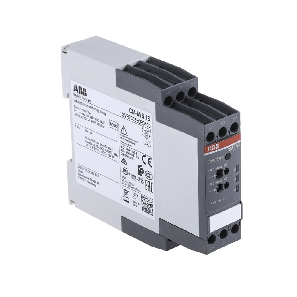 ABB Insulation Monitoring Relay With SPDT Contacts