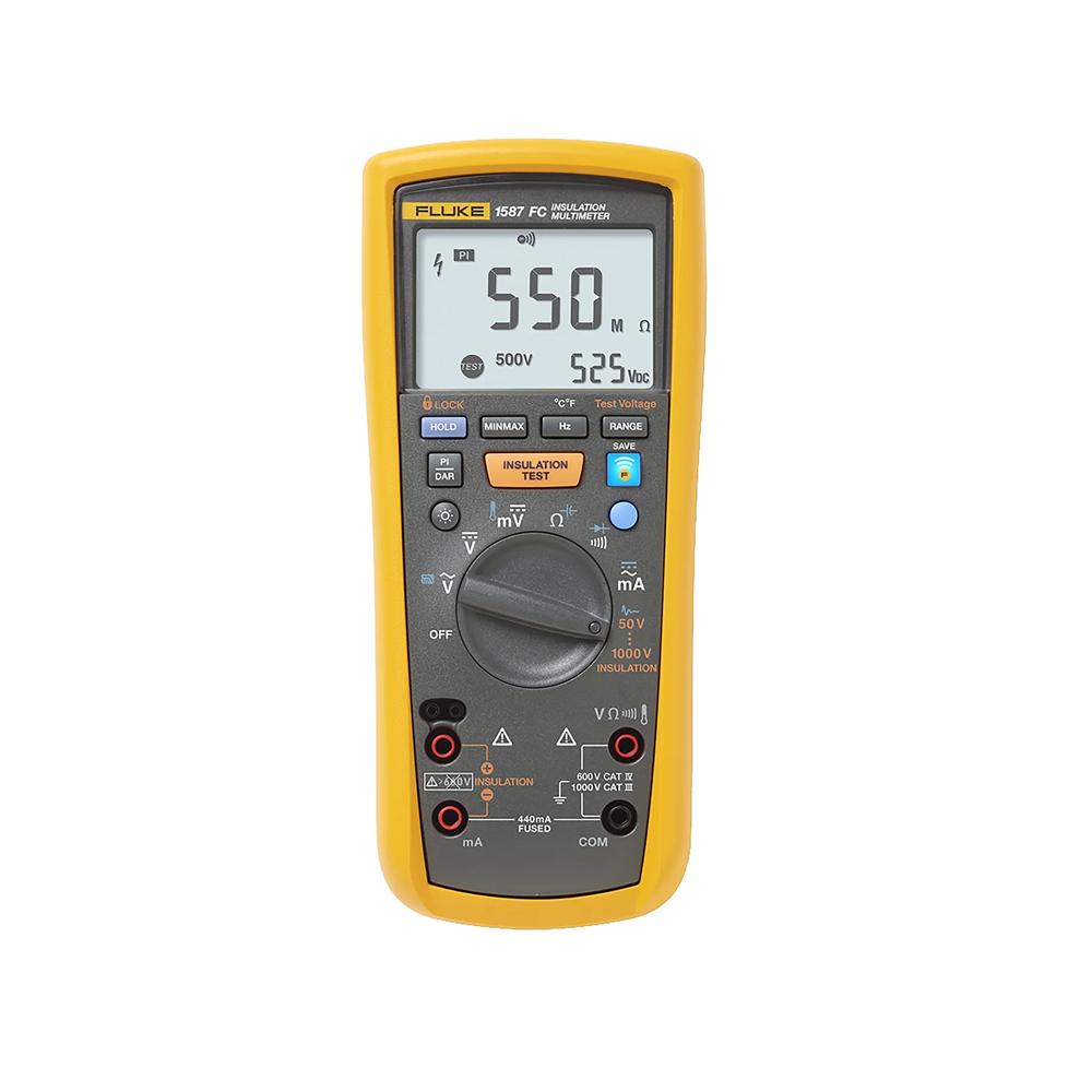 Fluke 1587 FC, Insulation Tester